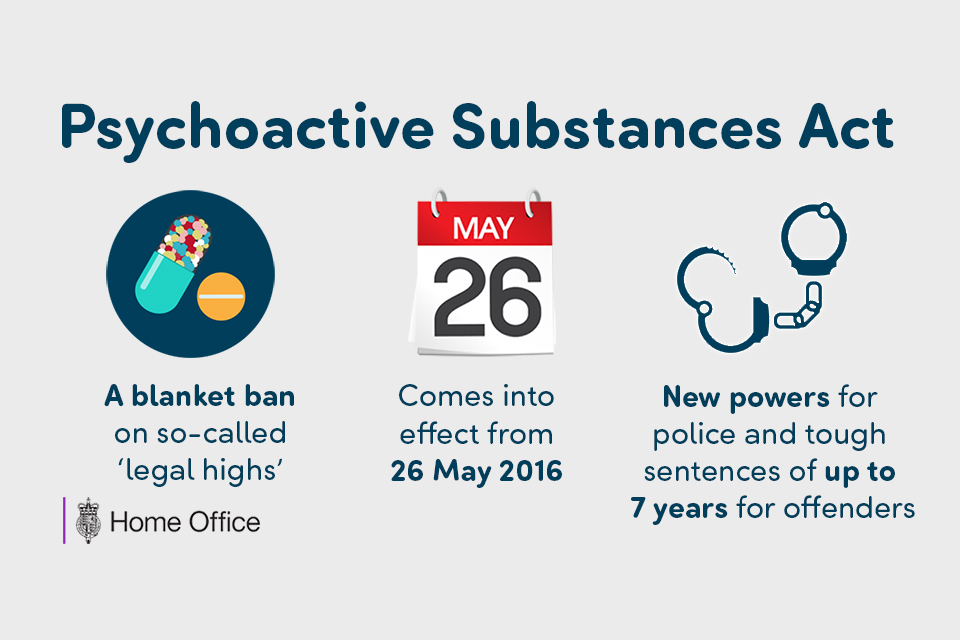 psychoactive substance act 26 May 2016